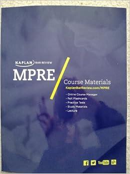 MPRE - California Bar Examination - Lawguides at Santa Clara