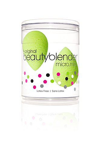 Beauty Blender Micro Mini Sponge, Green(Pack