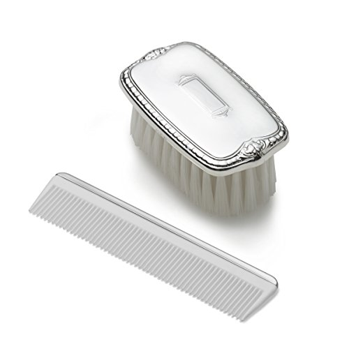 Empire Boys Shield Design Sterling Brush