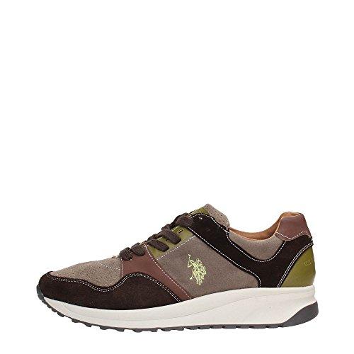 U.S. Polo Assn. SIBYL4082W5/SL1 Sneakers Uomo Crosta Marrone Marrone 43