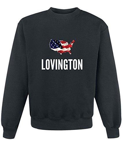 Felpa Lovington city Black