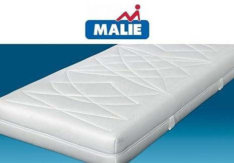 Malie Malima DeLuxe TFK 1000 7-Zonen Tonnentaschenfederkern-Matratze mit Viscoschaum, Größe:80 x 190 cm;Härtegrad:H2