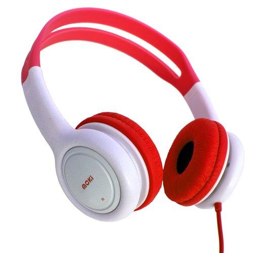 Moki Acc Hpkr Volume Limited Kids Headphones - Red