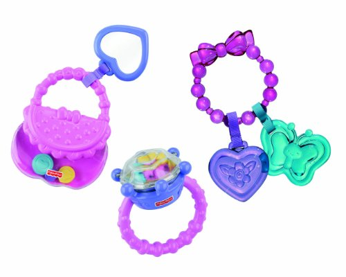 Fisher-Price Brilliant Basics Little Glamour Gift Set (Fisher Price Rattle Teether compare prices)