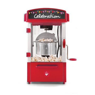 Holstein Housewares HU-09010R-M Celebration Theater Style Popcorn Maker - Red (Theatre Popcorn Machine compare prices)
