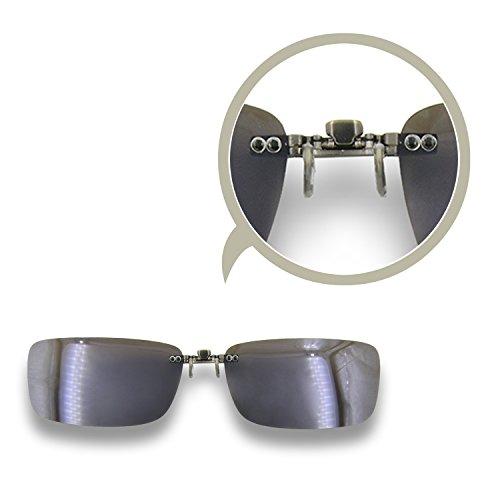 Besgoods Polarized Clip-on Sunglasses Lenses Glasses ...