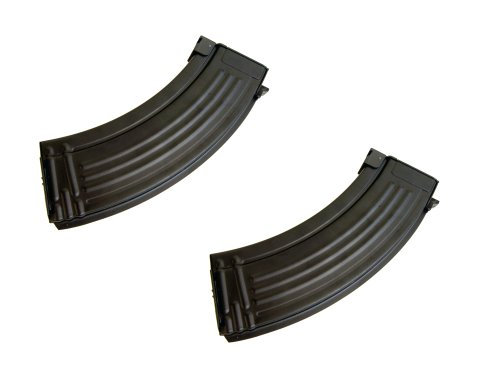 Metaltac® Airsoft Ak47 Magazine 600Rd Airsoft Gun Magazine (2 Pack) With Metaltac® Warranty