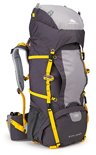 High Sierra Explorer 55 Internal Frame Pack, Mercury/Ash/Yell-O