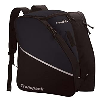 Transpack Edge Junior Isosceles Ski Boot Bag - Black One Size