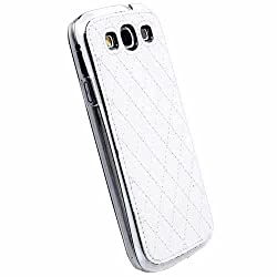 Krusell 89684 Avenyn Mobile UnderCover Case for Samsung Galaxy S III / S3 - White
