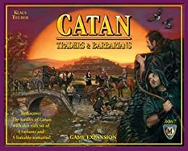 Catan Barbarians And Traders Expansion