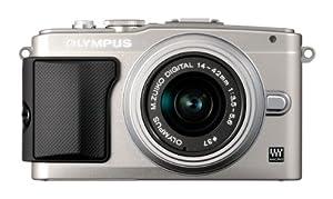 Olympus Pen E-PL5 Compact System Camera - Silver (16.1 MP, M.ZUIKO Digital 14 -42mm II R Lens Kit) 3 inch LCD
