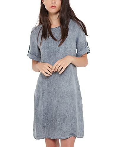 Today is the day Vestido Lino Doll Gris