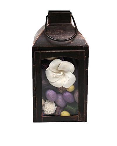 Jodhpuri Lilac Potpourri-Filled Lantern, Purple