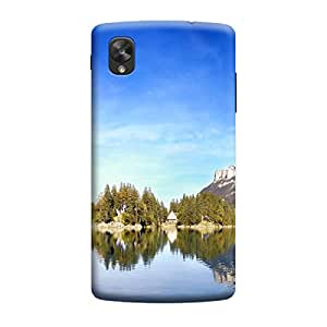 Ebby Premium Printed Mobile Back Case Cover With Full protection For LG Nexus 5 (Designer Case)
