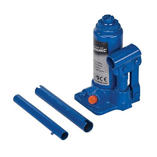 Silverline 427711 Hydraulic Bottle Jacks 2 t