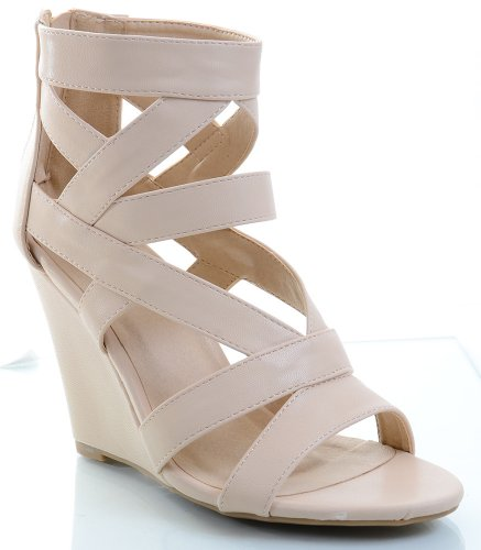 Funky Wedge Sandals front-996502