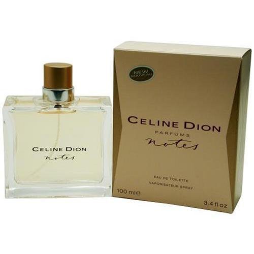Celine Dion NOTES 100ml EAU DE TOILETTE SPRAY