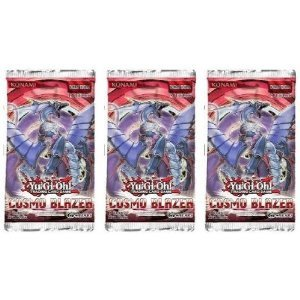 YuGiOh Cosmo Blazer 3 Booster Packs Release Date 01/25/2013 - 1
