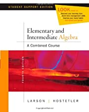 Elementary and Intermediate Algebra Algebra Within Reach by Larson