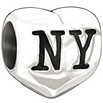 Authentic Chamilia Silver I Heart New York Charm - 2010-3054