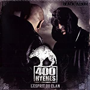 400 hy&egrave;nes - Black album (Cover - Tracklist) (Cover - Tracklist)