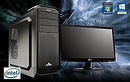 UフォレストPC スーパーゲーミングデスクトップフルセットモデルver2【CPU Core i7/メモリ8GB/HDD1TB/DVDマルチドライブ搭載/ディスプレイ 24インチフルHD/GTX960/OS Windows8.1pro】(ブラック[Win8.1フルセットモデル])