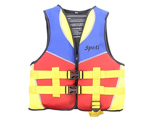 Genwiss Fisch Kinderschwimmweste Kids Schwimmweste rot oder orange Gr??e S / M / L f¨¹r zwei bis vier Jahre 22-33lbs
