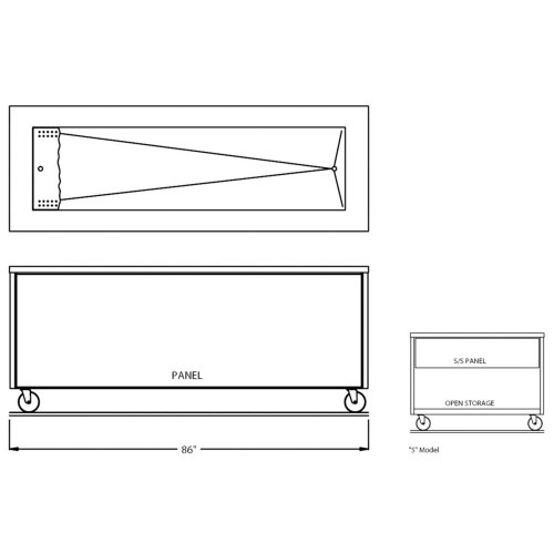Counter Depth Refrigerator Dimensions front-253003