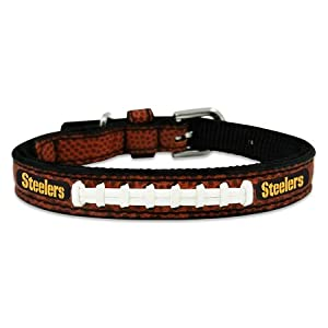 Pittsburgh Steelers Football Lace Dog Collar