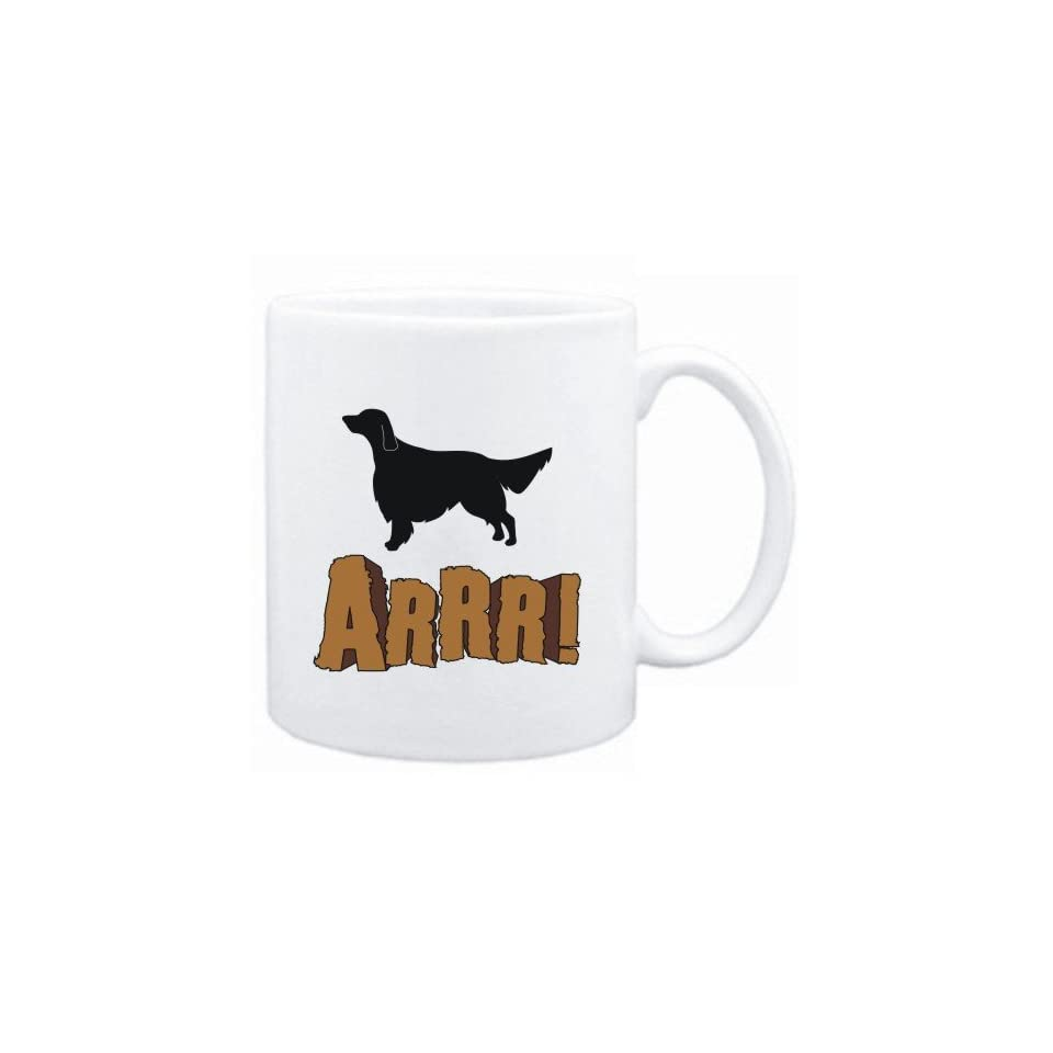 Mug White  English Setter  ARRRRR  Dogs