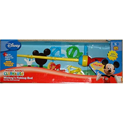 Amazon.com: Mickey Mouse Clubhouse Mickey's Fishing Rod