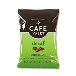 Cafe Valet Dark Roasted Coffee for One-Cup Brewers by Cafe Valet