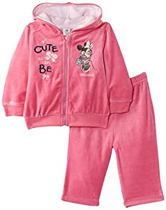 Disney Minnie Mouse Nh0114 - Traje de footing para niñas