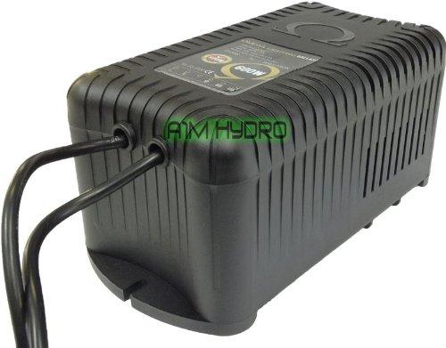 Omega 600w Premium Plastic Vented Magnetic Grow Room Ballast Hydroponics