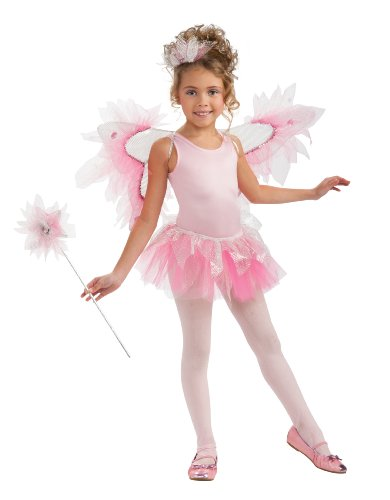 Rubie's Costume Women's Pink Fairy Wings Kit