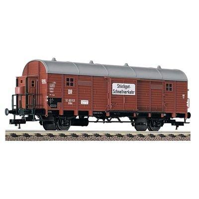Fleischmann 5707 - Gedeckter Güterwagen mit Bremserhaus Glhs Stückgut-Schnellverkehr