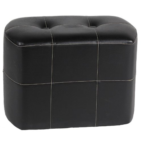 Essential Décor Entrada Collection Oval Ottoman