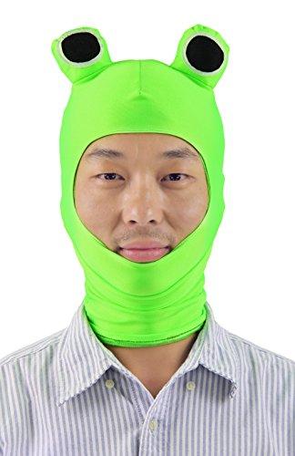 80fd007702c JustinCostume Spandex Funny Animal Hooded Mask Halloween Costume Accessories