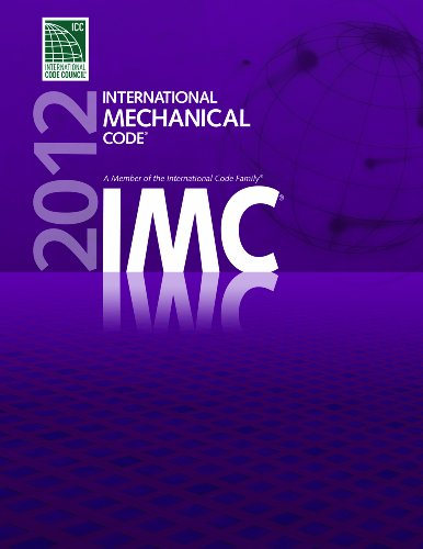 2012 International Mechanical Code - Soft-cover - ICC (distributed by Cengage Learning) - 3300S12 - ISBN: 1609830512 - ISBN-13: 9781609830519