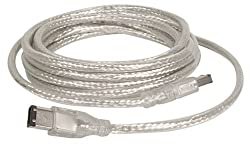 IOGear 6-Pin to 6-Pin Firewire Cable (10 Feet)