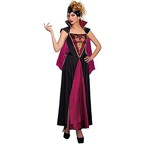 Evil Queen Woman Costume M 8-10 Medieval Renaissance Halloween Dress