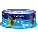 Verbatim Digital Vinyl CD-R(TM) 80MIN 700MB 25pk Spindle