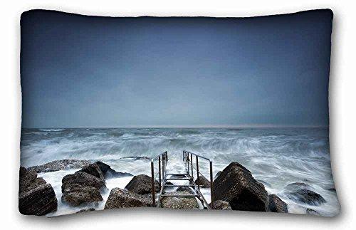 Generic Personalized ( Nature Sea Ocean sea aeYaeY sky landscape mood ocean waves sky ) Pillowcase Cover 20
