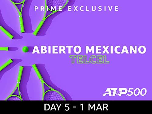 2019 Abierto Mexicano Telcel presentado por HSBC, ATP 500 - Day 5