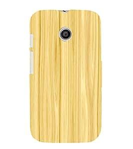 printtech Wooden Design Back Case Cover for Motorola Moto E XT1021 / Motorola Moto E (1st Gen)