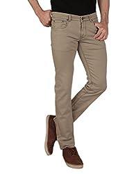 Dare's Men's Stretchable Slim Fit Denim-42