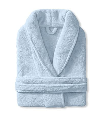 Mélange Home Microfleece Bathrobe, Blue, One Size