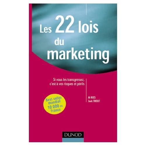 livre loi marketing résumé