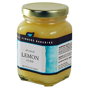 Sticky Fingers Lemon Curd